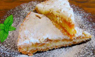 Болгарский насыпной яблочный пирог рецепты