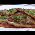 Блинчики из картофеля с шампиньонами видео рецепт. Великий пост.