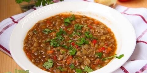 Болгарский суп из чечевицы — леща чорба Рецепт — YouTube