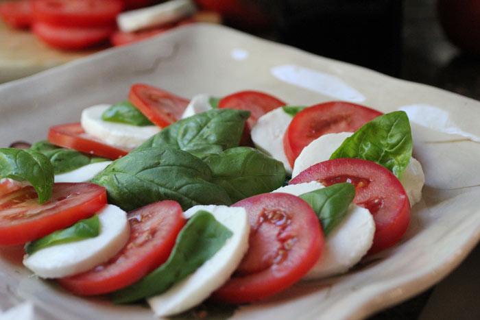 Простая итальянская закуска