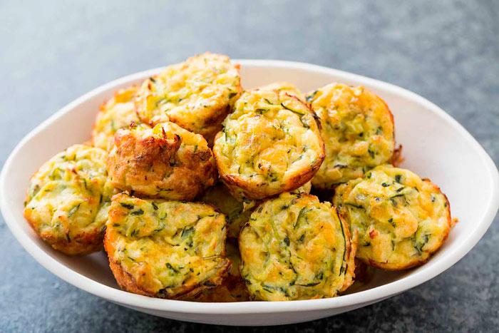 «Сырные» кабачки в духовке