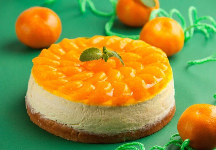 как приготовить пирог с мандаринам