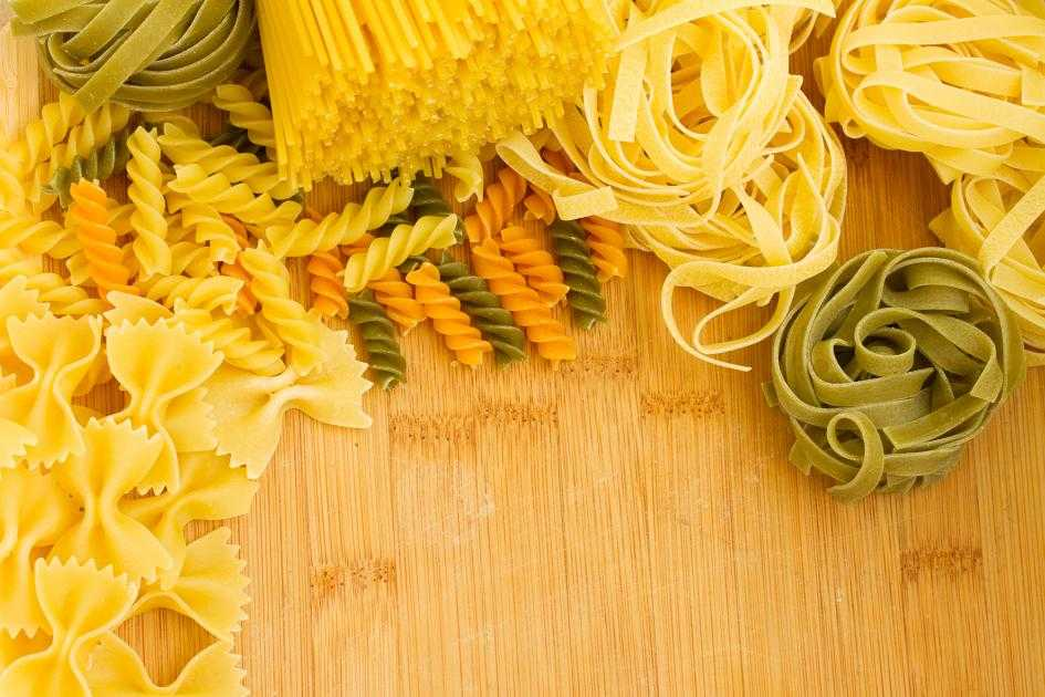 многообразие итальянской пасты