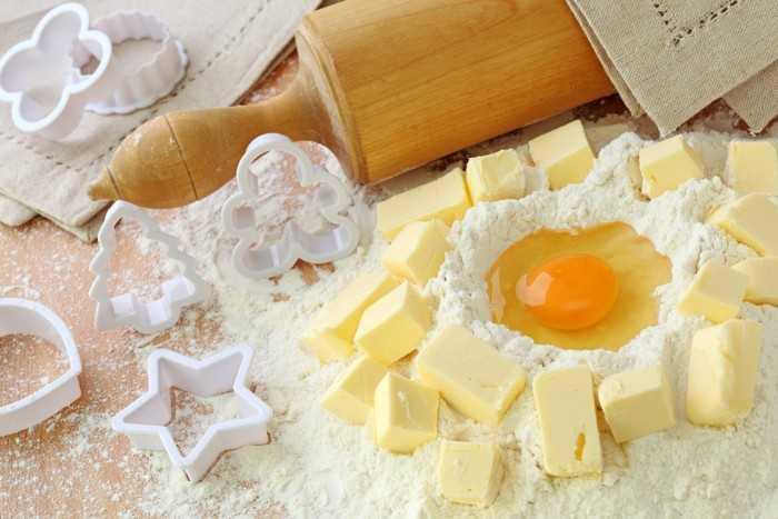 Рецепт песочного теста на маргарине: простой рецепт