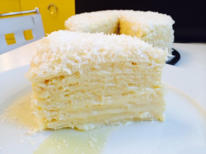 Домашний вариант торта
