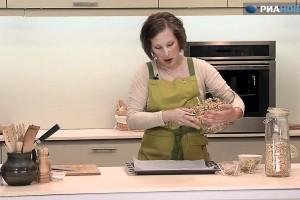 Домашние мюсли с сухофруктами, семечками и орехами