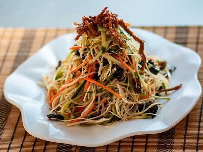 Как приготовить фунчозу с овощами: рецепты «стеклянной лапши»