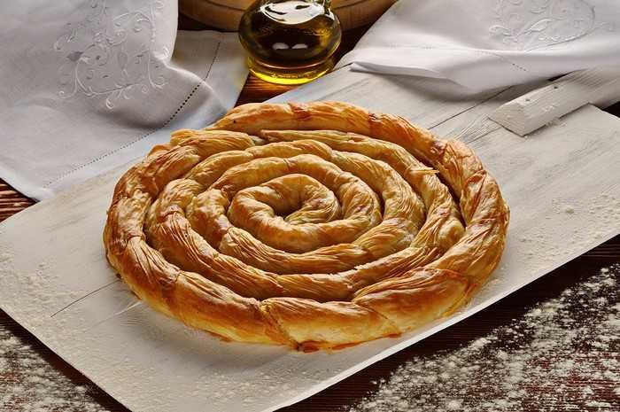 Рецепт пирога «улитка» с яблоками