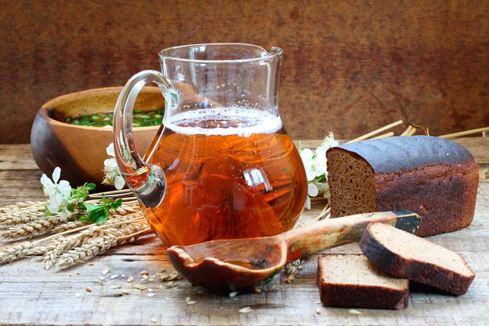 Рецепты домашнего кваса На ржаном хлебе