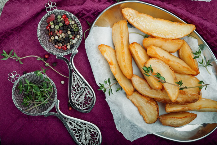 Как сделать картофель фри в духовке Замороженная жареная картошка