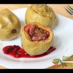 Фаршированные яблоки в духовке — YouTube