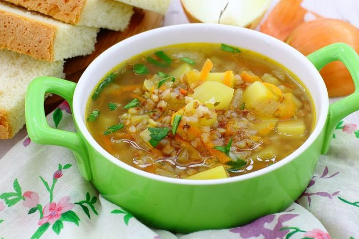 Как сварить суп без мяса