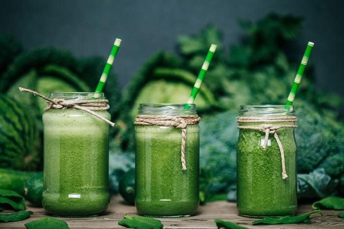 Овощной смузи для похудения