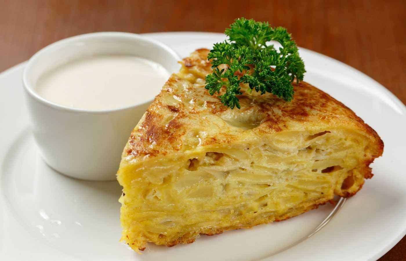испанская запеканка из картофеля и яиц