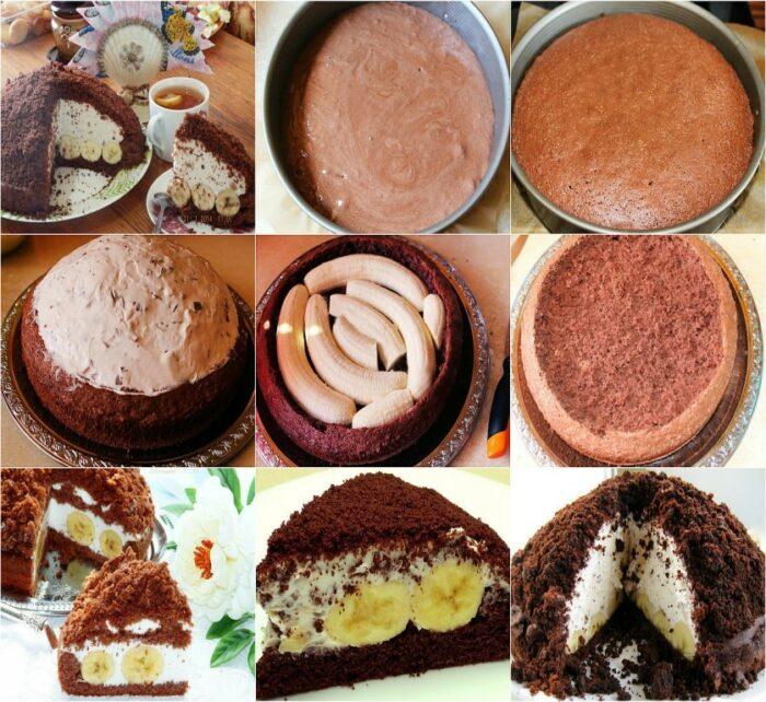 """рецепт диетического торта """"Норка крота"""""""