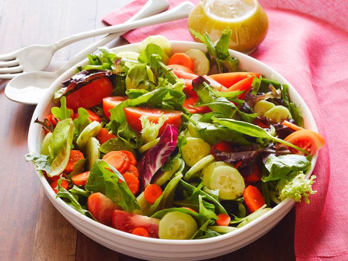 Овощной салат из Италии Рецепты диетических салатов без майонеза