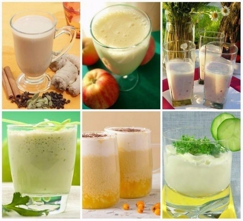 6 рецептов кефирных коктейлей для похудения