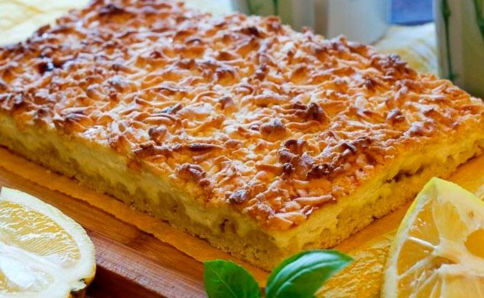 Тертый пирог с лимоном от Ирины Аллегровой