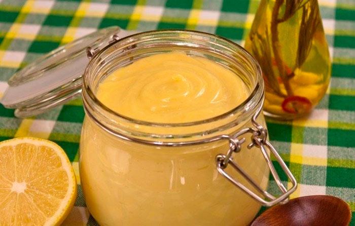 Горчично-лимонная заправка