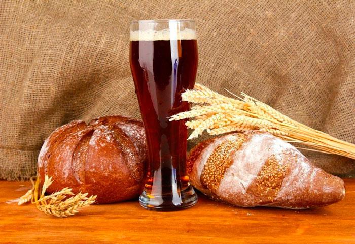 как сделать домашний хлебный квас фото