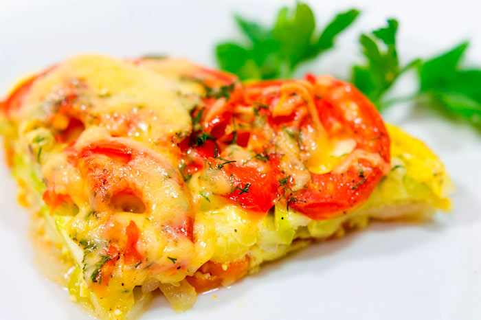 «Сырные» овощи в домашних условиях