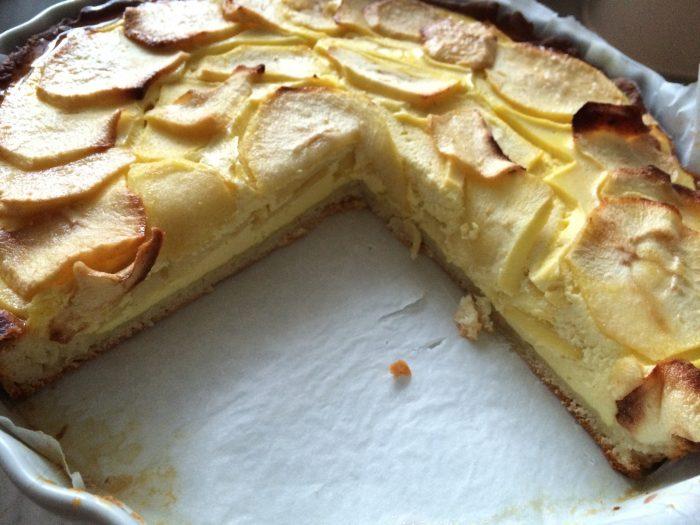 Как испечь наивкуснейший открытый пирог с творогом