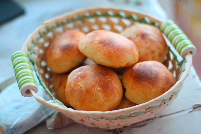 Круглые пирожки