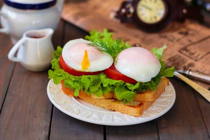 Яйцо-пашот французский вариант