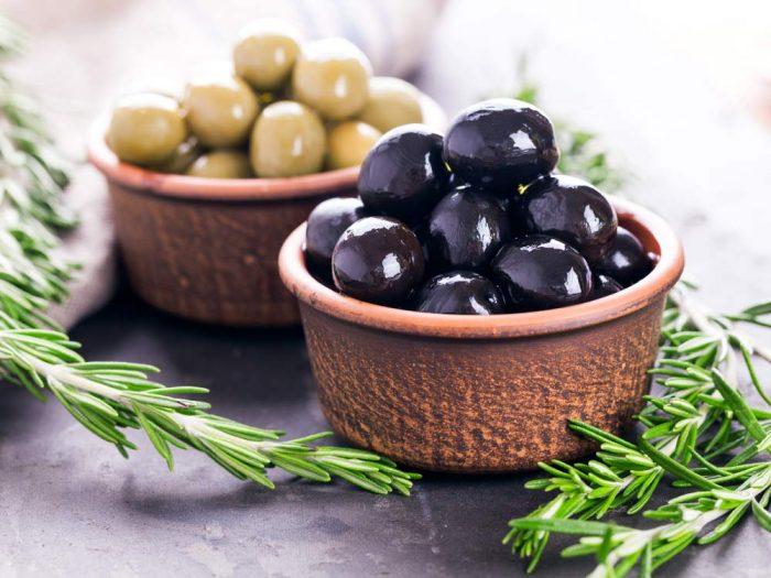 Польза оливок и маслин