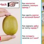 Как почистить киви, манго, авакадо ?