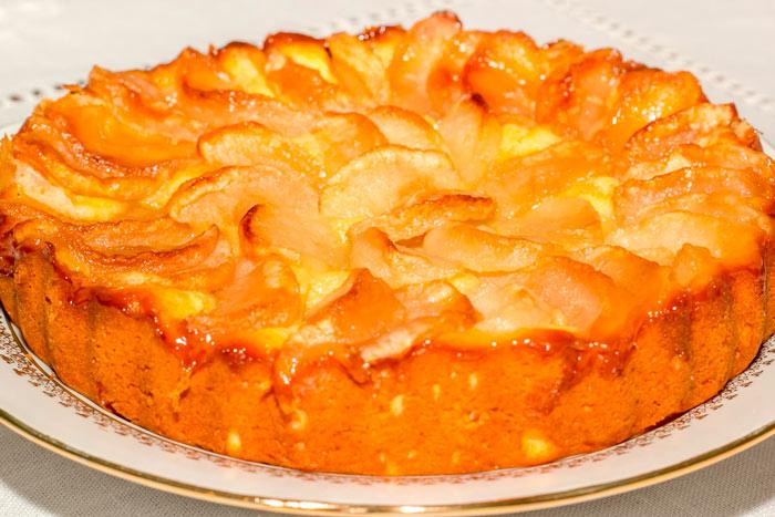 Рецепт пирога с тыквой и яблоками фото