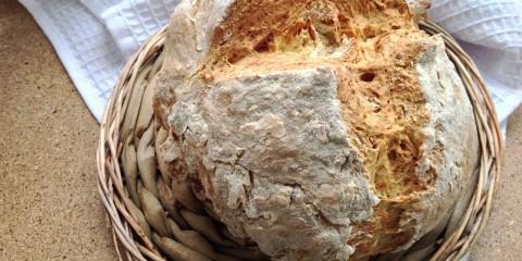 Хлеб на йогурте или пахте (без дрожжей)