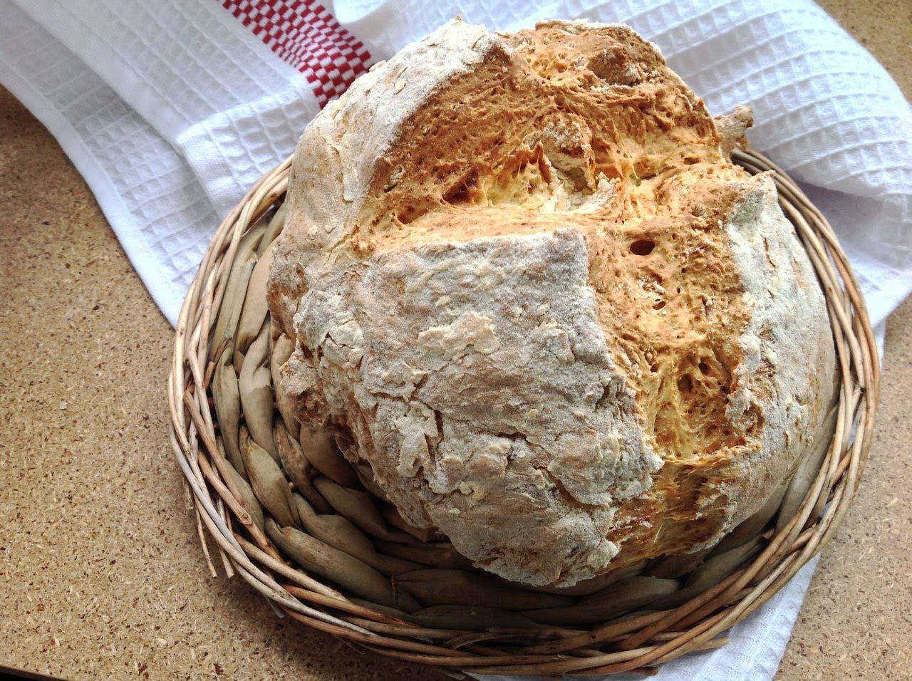 Рецепт хлеба без дрожжей яиц