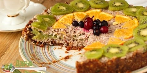 Кокосовый торт без сахара — видео рецепт — YouTube