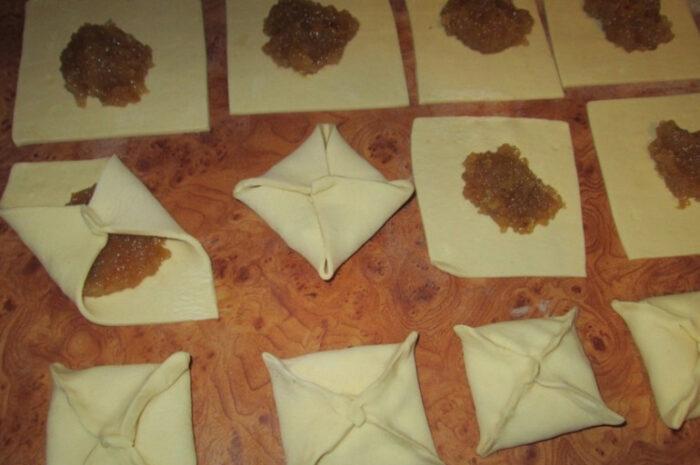 квадратные пирожки