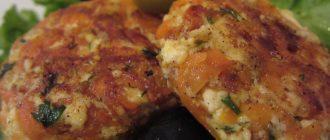 Котлеты морковно-сырные