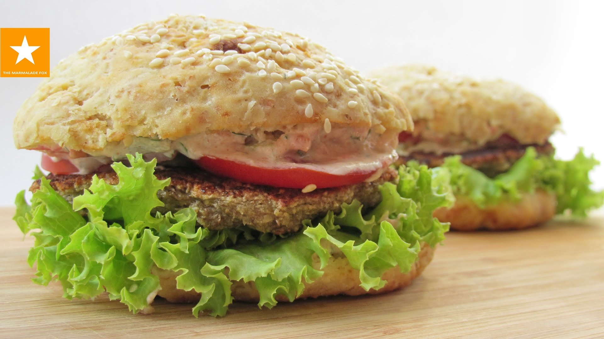 вегетарианский гамбургер
