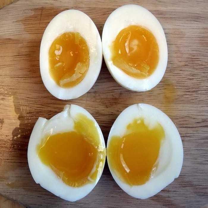 Сколько варить яйцо всмятку