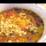 Кускус — как приготовить томатный суп с кускусом — YouTube
