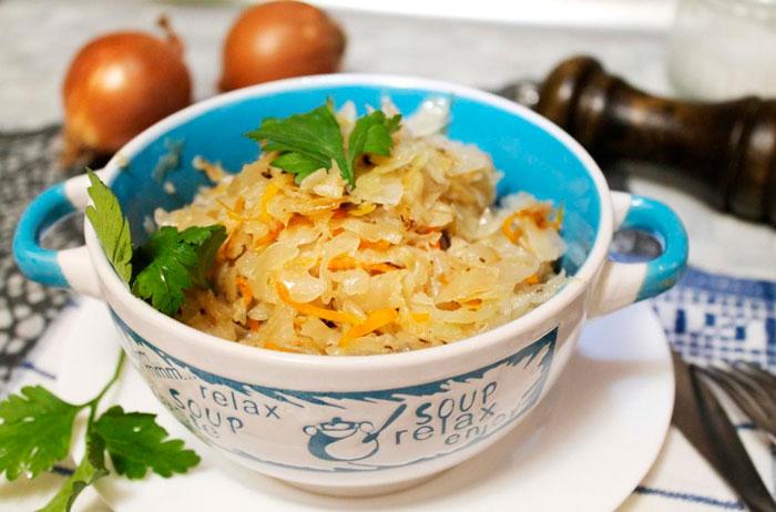 Что приготовить из капусты на ужин фото