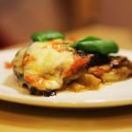 Лазанья из баклажан / Мелонзана пармеджано — рецепт