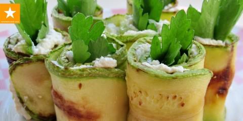 Легкая закуска из кабачков от Мармеладной Лисицы И никакого майонеза — YouTube