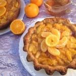 Мандариновый пирог — рецепт постный — YouTube