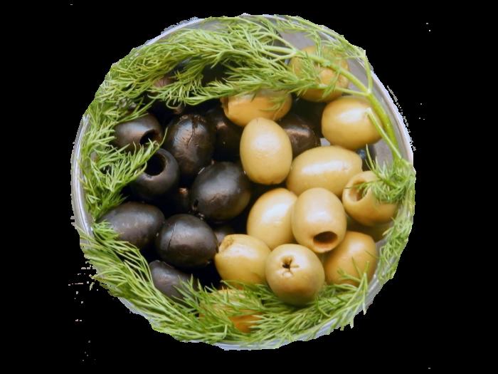 Как подать на стол оливки и маслины
