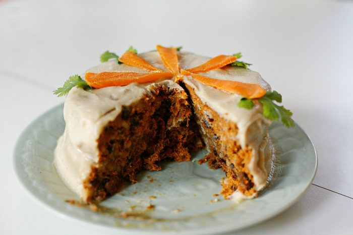 Морковный торт из авокадо