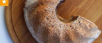 Мраморный рождественский кекс— рецепт со специями и маком