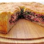Не осетинский пирог без дрожжей и яиц