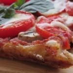 Очень вкусная и быстрая пицца на тесте без дрожжей и яиц