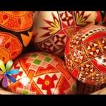 Оформляем пасхальные яйца