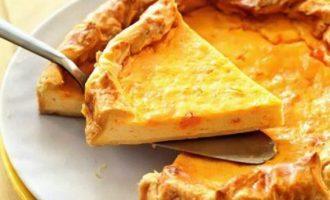 Рецепты открытого пирога с творогом